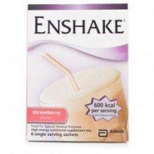 Enshake Sachets Strawberry (6 x 96.5g)