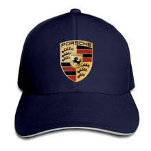 Baseball Porsche Adjustable Cool Hats Dark Blue