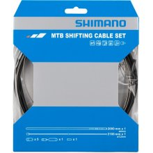 Shimano Spares Stainless Steel Inner MTB Gear Cable Set For Rear Only