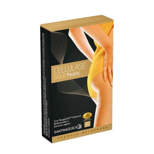 Cellulase Gold Pearls Anti Cellulite 40 Capsules