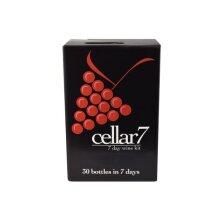 Cellar 7 30 Bottle (7 Day) Wine Making Kit - Merlot - Homebrew