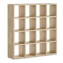 16 Cube Shelf Storage Cube Shelves 1470x1450x330mm