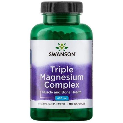 Swanson  Triple Magnesium Complex, 400mg , 100 caps