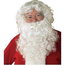 Men's Santa Beard & Wig Set