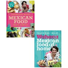 Thomasina Miers Mexican Food, Wahaca Mexican Food at Home 2 Books