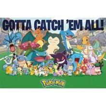 Pokemon All Time Favorites Poster