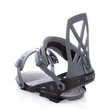 Ride Grey 2019 Capo Snowboard Bindings - XL