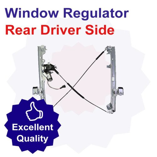 Premium Rear Driver Side Window Regulator for BMW 535 3.5 Litre Petrol (09/00-09/03)