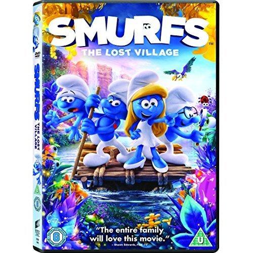 The Smurfs 3 - The Lost Village DVD [2017]