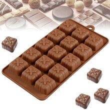 3D Silicone Mold Valentine Gift Box Present Mould Soap Wax Melt Chocolate Jelly