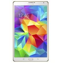 Samsung Galaxy Tab S 8.4-inch Tablet (White) - (ARM Exynos 5 Octa-Core 1.9GHz, 3GB RAM, 16GB Storage, Wi-Fi, 3G, 4G LTE, Android 4.4) - Used