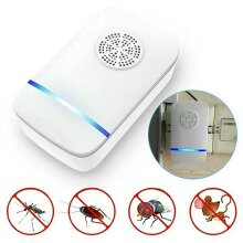 Ultrasonic Plug In Pest Repeller Deter Mice Rat Mouse Spider Insect Repellent
