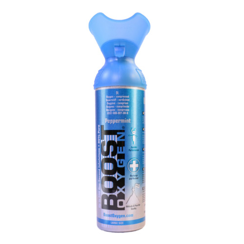 Boost Oxygen - Peppermint | 9L Portable Oxygen Canister