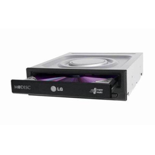 LG HLDS GH24NSD5.ARAA10B 24x Internal DVD-RW Black Drive - Bare GH24NSD5.ARAA10B
