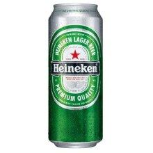 Heineken Premium Lager (24 x 500ml cans)