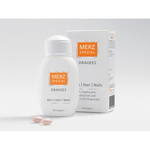 Merz Spezial Special 60 Dragees For Skin Hair & Nails Complex Vitamins& Mineral