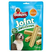Bakers Joint Delicious Large Dog Treats Chicken 7 per pack (PACK OF 6)