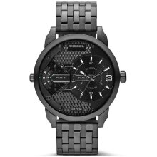 Diesel Mini Daddy Unisex Watch Dual Time DZ7316, New with Tags