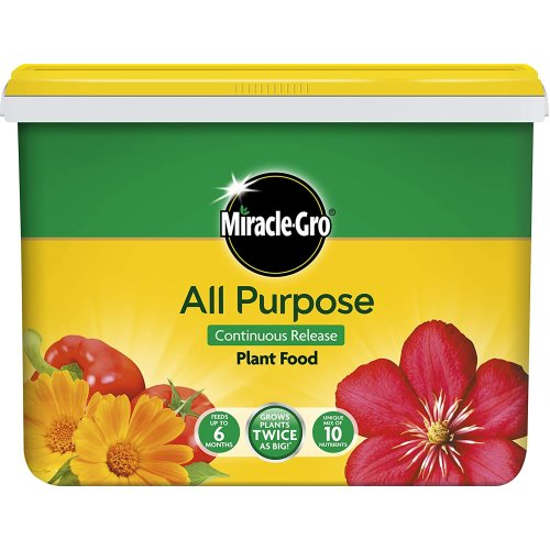 Miracle Gro Plant Food Continuous Slow Release All Purpose 2Kg Tub