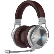 Corsair Virtuoso RGB Wireless SE Gaming Headset,High-Fidelity 7.1Surround Sound W/Broadcast Quality Microphone,Memory Foam Earcups,20Hour Battery Life