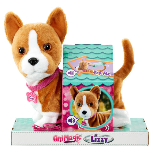 Lizzy My Wigglin Walkin Pup