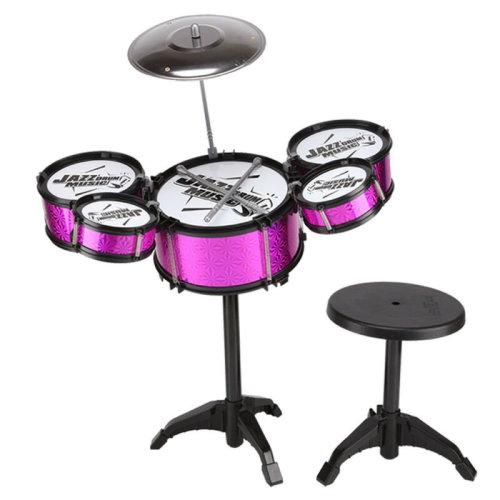 Kids Drum Kit Play Set   Drums, Cymbal & Stool