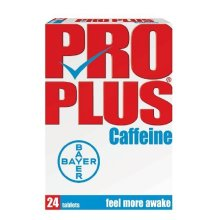 Pro Plus Caffeine Tablets - 24 Tablets