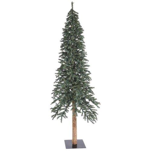 Vickerman B907390 Natural Bark Alpine Tree - 8 ft. x 50 in.