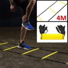 4M Speed Agility Ladder Exercise Sport Football Training Ladder