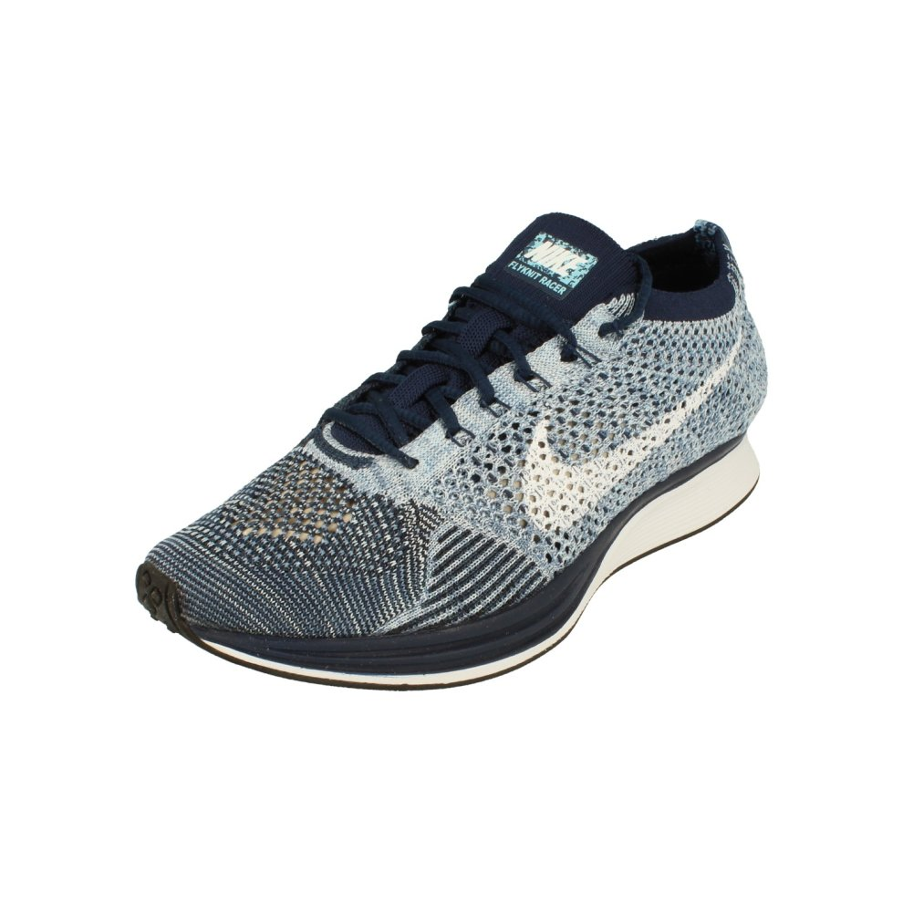 (6) Nike Flyknit Racer Mens Running Trainers 862713 Sneakers Shoes