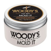 Woody's Grooming Mold It Styling Paste - Medium Hold - 100g