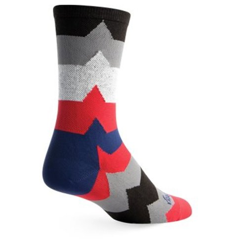 "Socks - SockGuy - Crew 6"" EKG2 L/XL Cycling/Running"