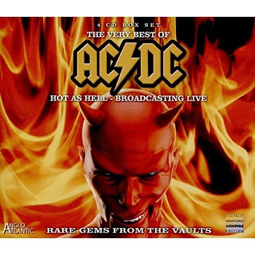 AC/DC - The Very Best of AC/DC: Hot as Hell - Broadcasting Live in the Bon Scott Era 1977-1979 (4CD) [CD]