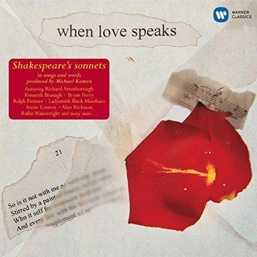 When Love Speaks - Shakespeare [CD]