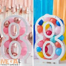 Balloon Mosaic Number Stand - 8