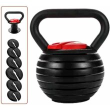 3Kg-18kg Adjustable Kettlebell Cast Iron