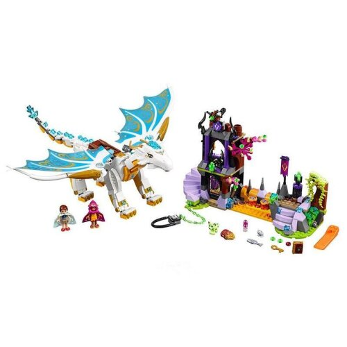 Elves Long After The Rescue Cction Dragon Building Block, Bricks Educational Toy