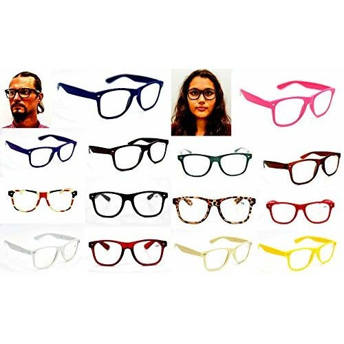 TN49 Classic Retro Oversized Style Fashion Reading Glasses +0.5 up to +4.0 Available In 24 Colours