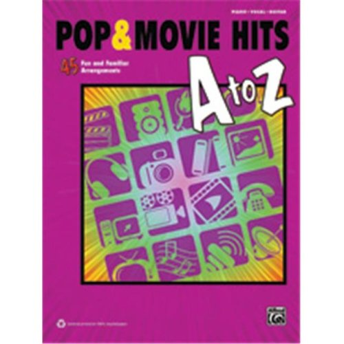 Alfred 00-41008 POP & MOVIE HITS A TO Z - PVG