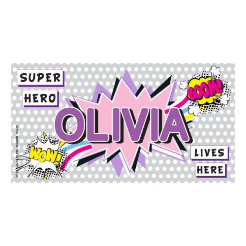 Olivia My Room Sign