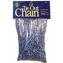 Leather Brothers 164.1M 2.5 mm x 15 ft. Tie-out Chain Med Weight