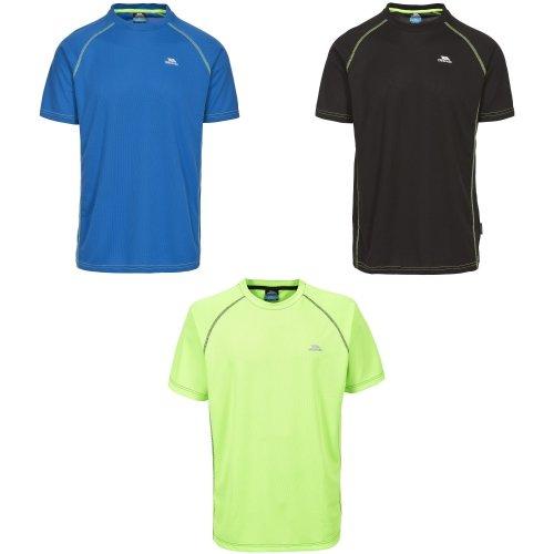 Trespass Mens Albert Quick Dry T-Shirt with Short Sleeves