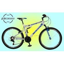 Boss Astro 26″ Mens Dual Suspension Mountain Bike - 18 Speed Gears