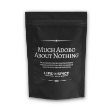 Much Adobo About Nothing - Life of Spice Gourmet BBQ Rub (50g) - Great Taste Award winner - Paprika, Chipotle and Oregano