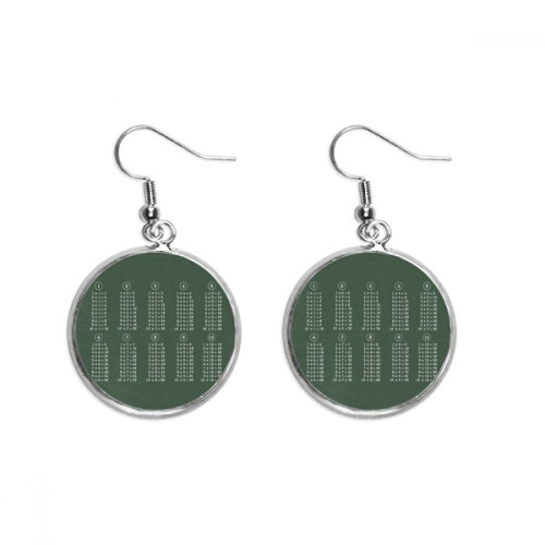 Moscow Cathedral Christ Russia Ear Dangle Silver Drop Earring Jewelry Woman