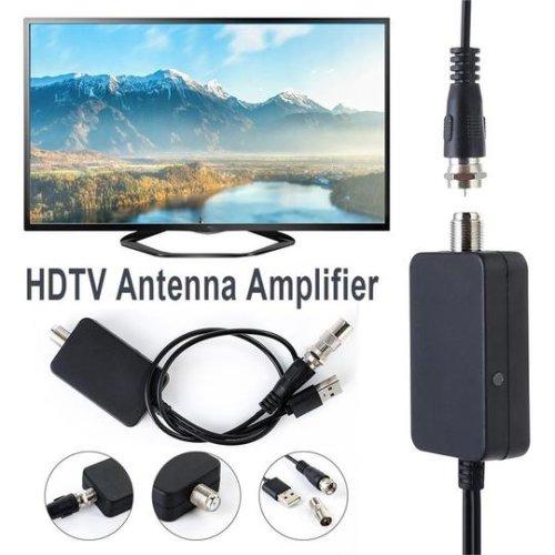 TV Aerial HDTV TV Antenna Amplifier Signal Booster Adapter