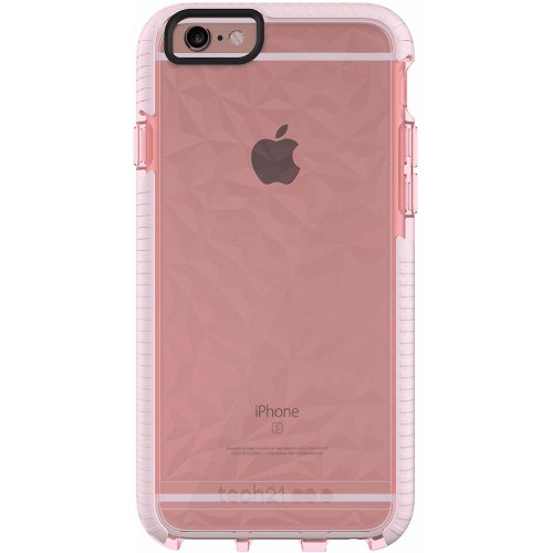 Tech 21 Evo Gem 2m Drop Protection Phone Case Cover for Apple iPhone 6 / iPhone 6S - Rose