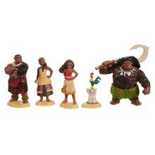 Disney's Moana Figurine Set - 5 Figures