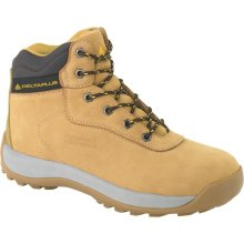 Delta Plus LH840 Nubuck Leather Hiker Safety Work Boots Tan (Sizes 7-12)