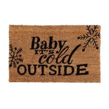 Cold Outside Doormat,Pvc Backed Coir - Big Living